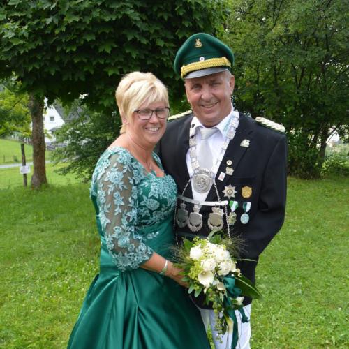 Das Kaiserpaar 2016 - 2021: Bettina und Thomas Srenk